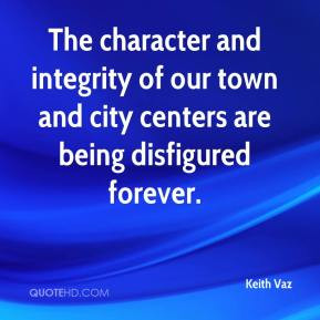 Keith Vaz - The character and integrity of our town and city centers ...