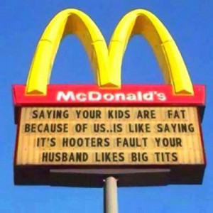 Saying your kids are fat…
