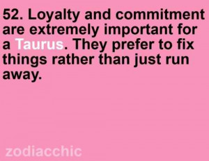 Loyalty & commitment...