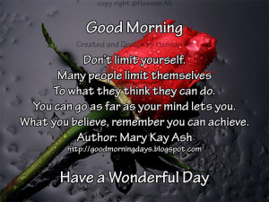 Good Morning Quotes for 11-05-2010