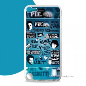 Supernatural Quotes Tv Series iPod Touch 5 Case