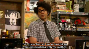it crowd maurice moss british comedy Roy