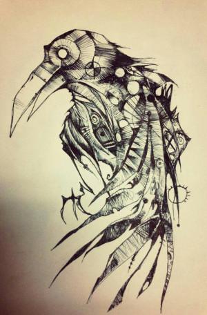 The Raven tattoo idea. Edgar Allan Poe.Tattoo Ideas, Edgar Allan Poe ...