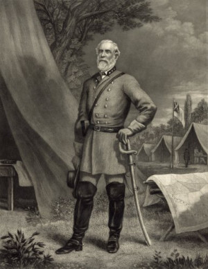 Robert E. Lee put on his uniform at least once after the Civil War ...