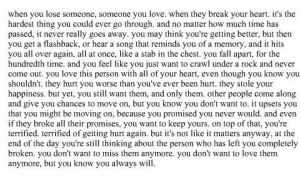breakup quote, cute, love, moving on, quote, sad, text