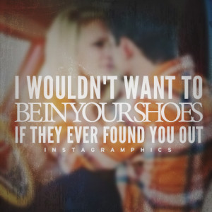 ... To Be In Your Shoes Miranda Lambert Quote graphic from Instagramphics
