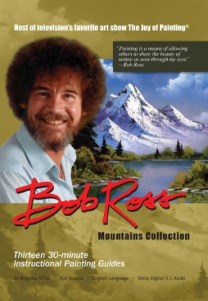 Bob Ross Joy Of Painting Series: Mountains 3 DVD Collection