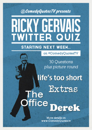 Ricky Gervais Twitter Quiz