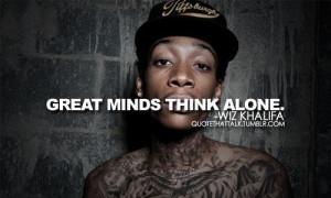 Wiz Khalifa popular quotes