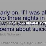 money jack nicholson, quotes, sayings, go crazy jack nicholson, quotes ...