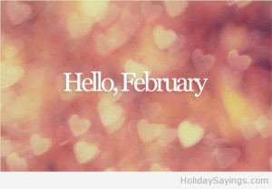 Hello february love 2014