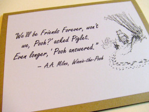 Famous Quotes By Winnie The Pooh Winnie pooh quotes friendship