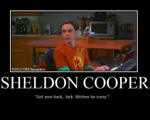 Ok, this is one of my favorite Sheldon quotes of all time. (Of allll ...