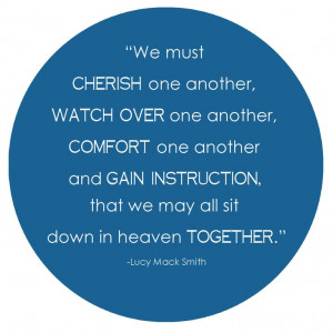 Together.. Lucy Mack SmithLds Quotes, Quotes Stories