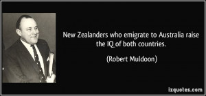 New Zealanders who emigrate to Australia raise the IQ of both ...