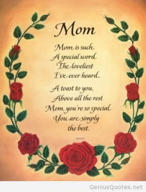 Happy Birthday Mom Quotes Wallpapers