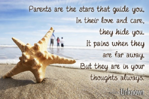 ... intensity and unselfishness that parents love their children with