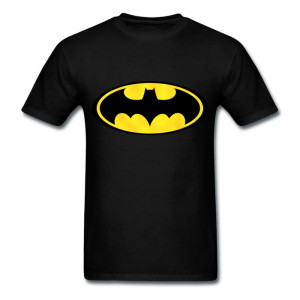 Wholesale-Slim-Fit-Men-s-T-Shirt-Batman-logo-pic3-Personalize-Quote ...