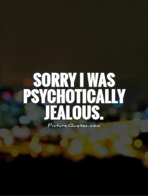 Jealous Quotes