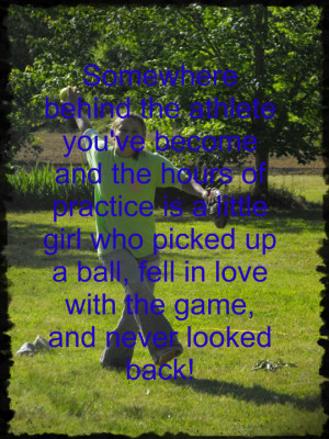 cute quotes about softball