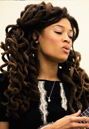 Valerie June curly locs - really can not wait to do this June Curly ...