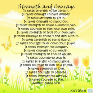 Words of Strength and Courage By media-cache-ec0.pinimg.com