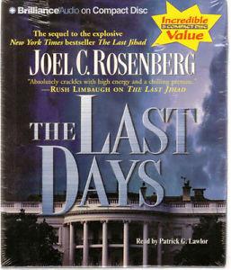 The Last Days Audiobook Joel C Rosenberg NEW Abridged