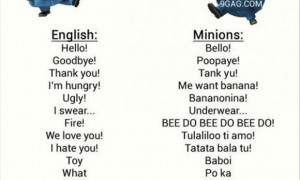 Top 10 Best Funny Minions Quotes and Pictures