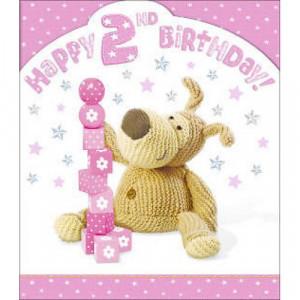happy 2nd birthday girl card happy 2nd birthday girl card 2nd birthday ...