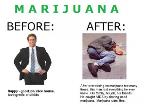 marijuana before and after