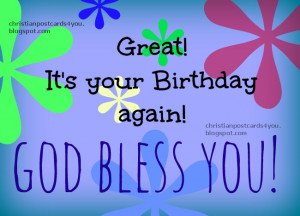 Happy Birthday, God bless you . blessings on you Birthday. Free quotes ...