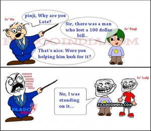 funny student cartoons