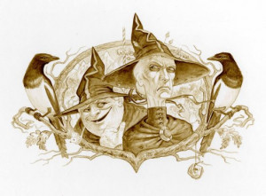 Folklore of discworld Underpainting[1] (2)