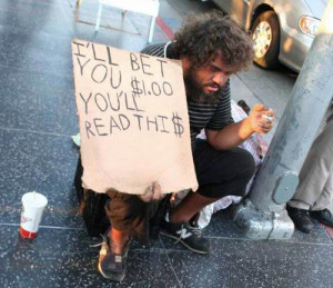 Funny Homeless Signs and Quotes by Funny Homeless People