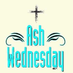 Ash Wednesday Clip Arts