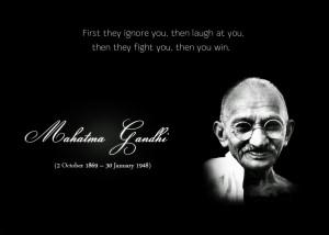 Best Quotes Of Mohandas Karamchand Gandhi