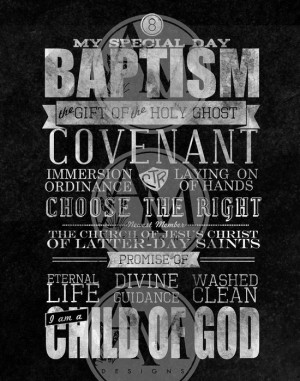 Quotes On Baptism LDS