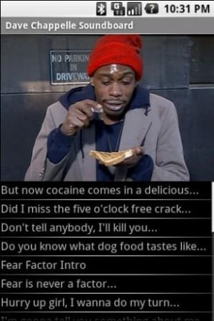 Dave Chappelle Haters Ball http://www.appszoom.com/android_themes ...