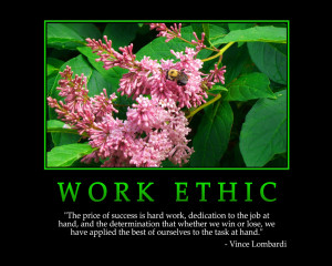 WORK ETHIC - Motivational Wallpapers