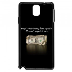 Funny Words Of Wisdom Quotes Galaxy Note 3 Case