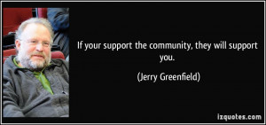 Community Support Quotes
