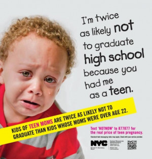 ... Parenthood slams Bloomberg administration's new teen pregnancy ads