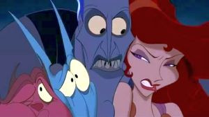 HADES: Fortunately for the three of you we still have time to correct ...