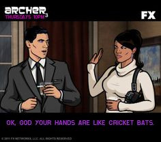 It's the Archer Quote-down!: Sterling Archer
