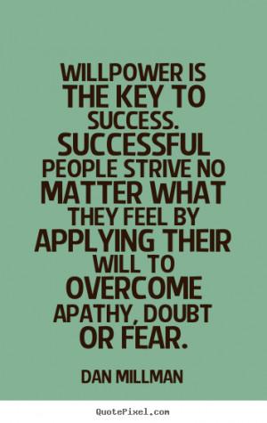 Unity faith discipline key to success