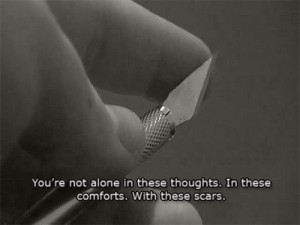 Self Injury Cutting Quotes picture