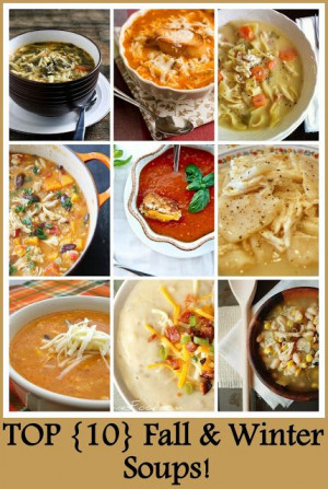 Craft-O-Maniac: Top 10 Fall & Winter Soups~T~Make in the slow cooker ...