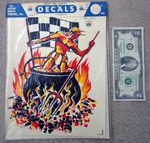 Flags Racing, Satan Hotrod, Checkered Flags, Decals Deviled ...