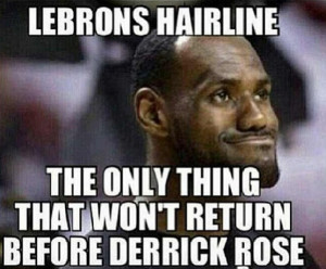 lebron james hairline meme