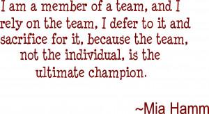 mia hamm soccer quotes for girls mia hamm quotes mia hamm quotes mia ...